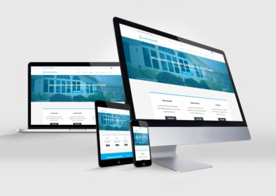 Anchor Website Design Mockup